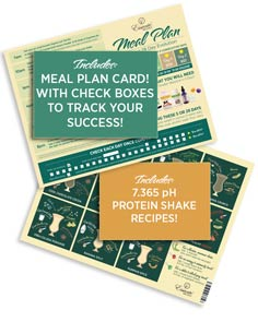 Tools: Meal Plan Card w/ Shake Recipes
