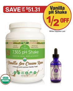 Sale: Supreme pH Buy 1 Get Vanilla Shake 1/2 OFF