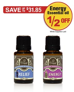 Sale: Relief Oil Buy 1 Get Energy Oil 1/2 OFF