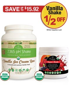 Sale: Super Reds Tub Buy 1 Get Vanilla Shake 1/2 OFF