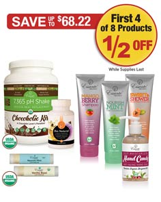 Sale: 1/2 OFF 4 of these 8 products