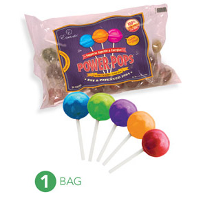 Web Offer: Power Pops ANY 1 BAG