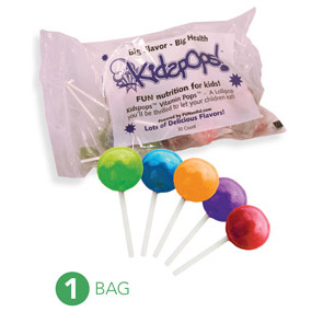 Web Offer: Kids Pops - Vitamins on a stick