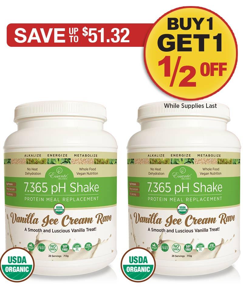 Sale: BOGO 1/2 OFF Vanilla Shake