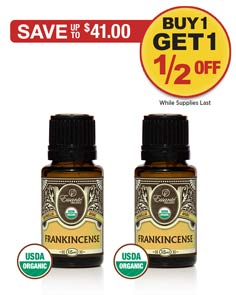 Sale: BOGO 1/2 OFF Frankincense Essential Oil