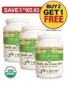 Sale:  1/2 OFF 3 pH Shakes