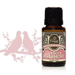 Essential Oil Blend: Peace & Harmony 15ml