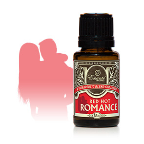 Essentail Oil Blend: Red Hot Romance 15ml