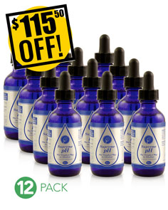 A DISCOUNTED PACK<br>12 Bottles Supreme pH (16ml ea.)<br>Expo or Store Front Pack<br>$92.40 OFF!