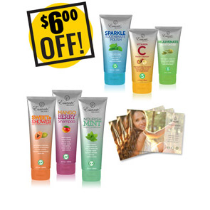 A DISCOUNTED PACK<br>Toxic Free Body<br>6 Products, 3 Catalogs<br>$6 OFF!