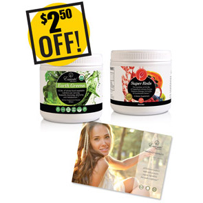 A DISCOUNTED PACK<br>One Two Power Punch<br>Reds, Greens, Catalog<br>$3 OFF & GAIN 3 POINTS!