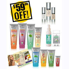 A DISCOUNTED PACK Younger Skin, Whiter Teeth, Smoother Hair $59 OFF