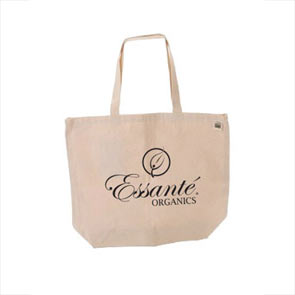 Tools: Cotton Canvas Tote Shopping Bag 17x14x5